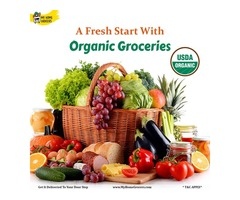 Organic Groceries Online Mckinney,Texas - MyHomeGrocers