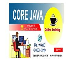 Core Java Online Training in USA - NareshIT