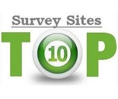 Top 10 Paid Online Survey Sites