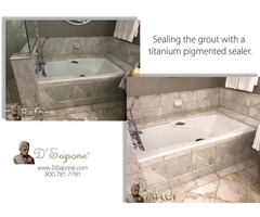 Marble Shower Restoration in Alpharetta - Johns Creek   D'Sapone