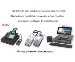 FREE credit card machine or Cash register system.
