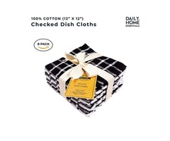 Buy 100% Cotton Terry Dish Cloth Online at best prices in USA – Absorbent Dish Towels