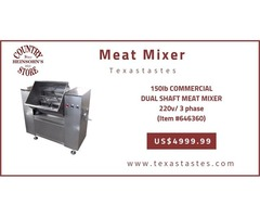 Low cost Meat Mixer – Texas, USA