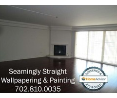 Las Vegas's Licensed Wallpaper Installation Contractor...Seamingly Straight Inc.