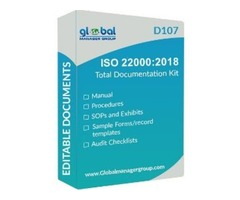 Free Download ISO 22000:2018 Documentation Kit