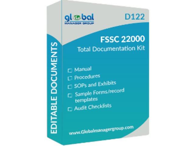 Readymade FSSC 22000 Manual Documents in English | free-classifieds-usa.com