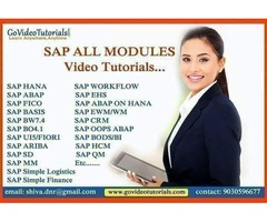 sap abap video tutorials
