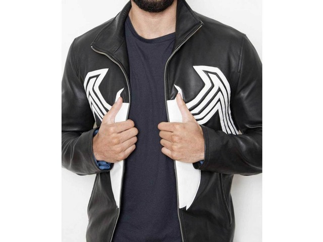 Venom Tom Hardy Leather Jacket | free-classifieds-usa.com