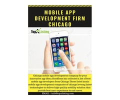 Mobile Application Development Firm Chicago