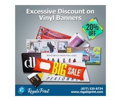 Grab a 20% discount on Vinyl banners by RegaloPrint