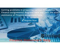 Find Best Finance Homework Help Services Online