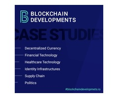 Case Studies of Blockchain Technology | Blockchain Developments