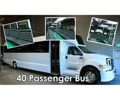 Book a party bus through Sacramento