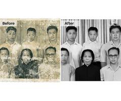 High-Quality Photo Restoration Service Provider – Album Design Store