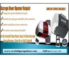 1 Hour | Emergency Garage Door Opener Repair ($25.95) | Rockwall Dallas, 75087 TX