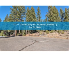 Lot for Sale | 11777 China Camp Rd Truckee CA 96161