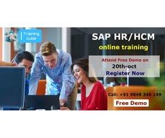 SAP HR/HCM Online Training Interested people Attend Free Demo Register Now.