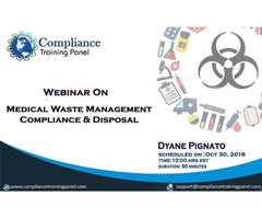 Medical Waste Management: Compliance & Disposal