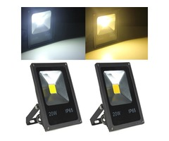 20W White/Warm White LED Flood Light Wash Garden Lamp AC85-265V