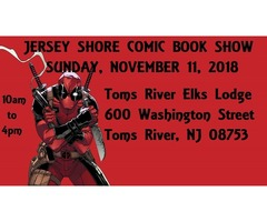 Jersey Shore Fall Comic Book Show