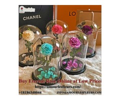 Buy Eternal Rose Online at Low Prices : Amourlesfleurs