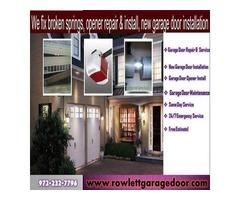 BBB A+ Rating Emergency Garage door Installation ($25.95) | Rockwall Dallas, 75087 TX