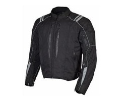 Men Motorcycle Cordura Race Classic Fit Jacket CE Protection