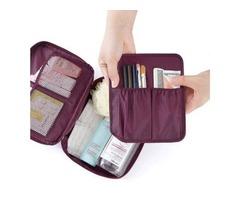 Buy Custom Printed Cosmetic Bags at Wholesale Price