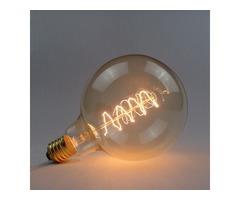 G125 E27 40W 220V Wrap Wire Incandescent Bulb Retro Edison Bulb