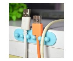 Multi-function Bobbin Winder Wire Holder For Cables Random Color