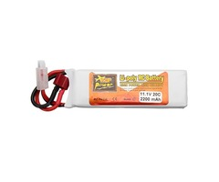 ZOP Power 11.1V 2200mAh 3S 20C Lipo Battery T Plug