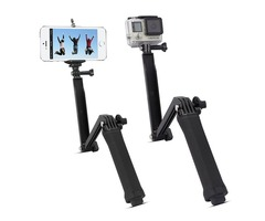 Multi-function Tripod Extendable Handheld Monopod Adjustable Selfie Stick for GoPro 4/3+/3 Cameras