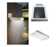 350 Lumen 46 LED Solar Power Lamp Outdoor Garden Motion Sensor Wall Light
