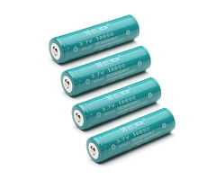 4PCS MECO 3.7v 4000mAh Protected Rechargeable 18650 Li-ion Battery