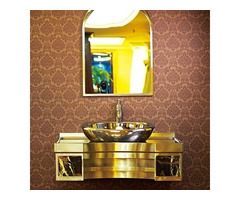 The Style Of The Stainless Steel Bathroom Cabinet Needs To Match The Overall Style