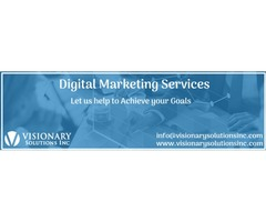 Get Customized Digital Marketing Services in Florida | Visionary Solutions Inc