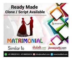 Have app like shaadi com  clone script for  Matrimonial site
