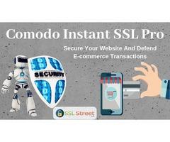 Secure Online Transactions|  Comodo Instant SSL Pro Certificate