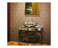 Stainless Steel Bathroom Cabinet Is Not Afraid Of Water Vapor Corrosion