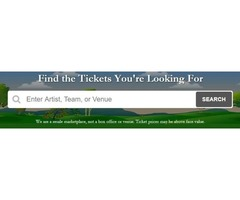 Concert Tickets at Rock Bottom Prices