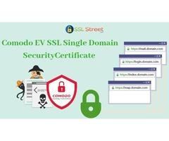 Buy Comodo EV SSL Single Domain Certificate And Secure Your Website