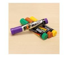 Genvana 12mm POP Marker Pen Oblique Square Point Repeated Filling