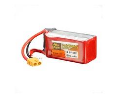 ZOP Power 14.8V 1500mAh 4S 45C Lipo Battery XT60 Plug