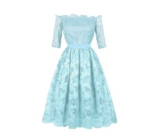 Presale Off-the-Shoulder A Line Homecoming Dress