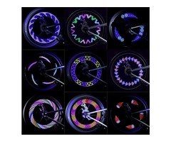 14LED 30 Changes Wheel Tire Signal Spoke Light Battery Motorcycle Bike