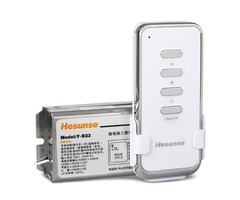 Hesunse 3 Channels Wireless RF Remote Control High Power Lamp Switch