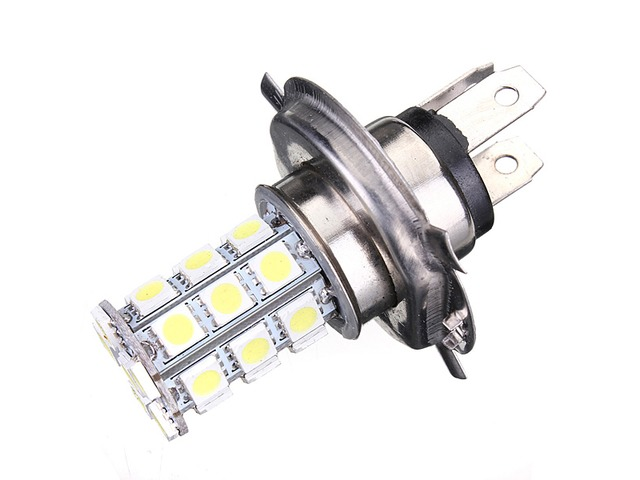 Xenon H4 9003 5050 27-SMD LED Bulb Fog DRL High Beam Headlight | free-classifieds-usa.com