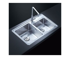 Stainless Steel Kitchen Sink Are Generally Fixed With Glass Glue