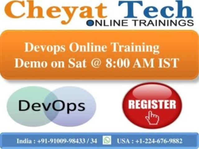 Cheyat Technologies providing Devops Online Training with highest standards. | free-classifieds-usa.com