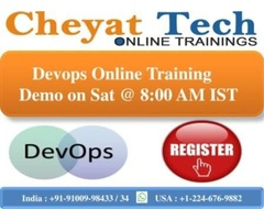 Cheyat Technologies providing Devops Online Training with highest standards.